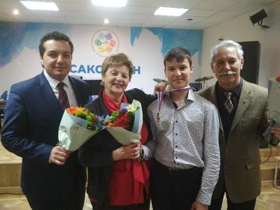 Юный челябинец стал победителем XVIII Дельфийских игр