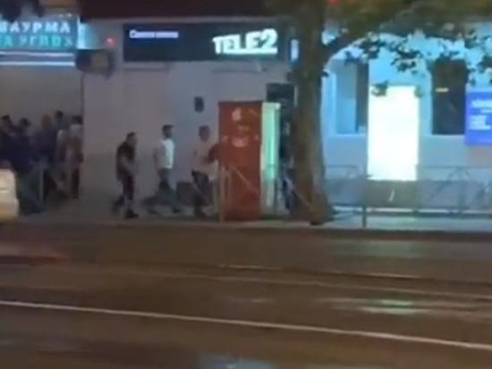 В ходе перестрелки у Вишняковского рынка в Краснодаре погиб человек