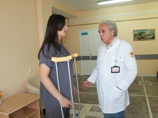 Челябинские травматологи вернули молодой матери возможность ходить
