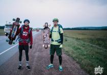 Красноярские райдеры - о трудностях и специфике поездки по трассе на лонгбордах