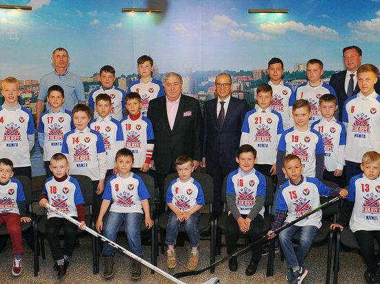 Группа «Сафмар» направляет 450 млн рублей на развитие детско-юношеского хоккея в Удмуртии
