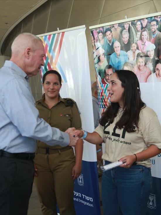 В Тель-Авиве прошла торжественная церемония открытия программы «Гарин Цабар»