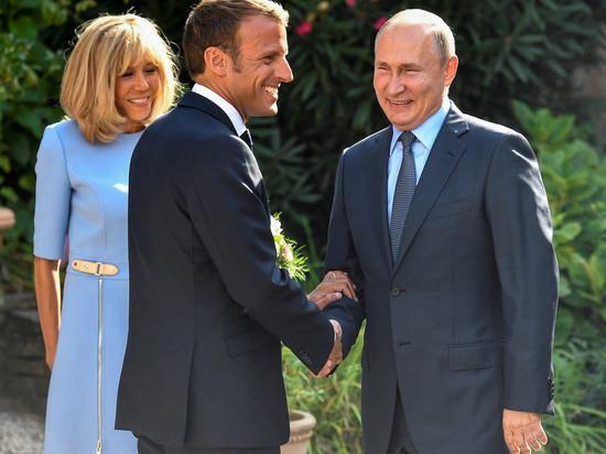 Макрон назвал условие возвращения России в G7