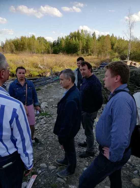Рашид Нургалиев приехал с рабочей поездкой в Карелию