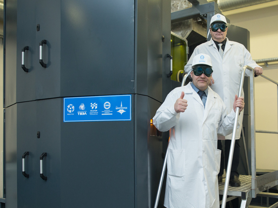 В Свердловской области запущен в опытную эксплуатацию первый российский двухпорошковый двухлазерный 3D-принтер