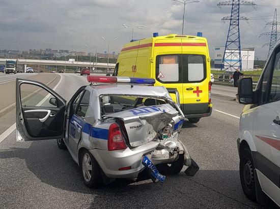 Моталибхон обгонял по обочине: названа причина аварии с машиной ГИБДД