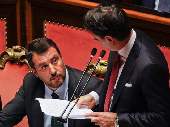 Отставка правительства Италии: к власти стремится «друг Путина»