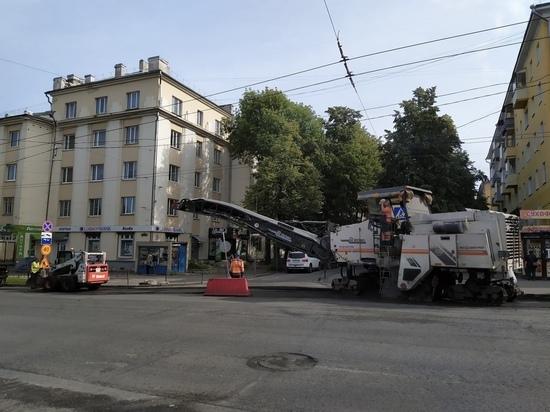 Администрация Петрозаводска рассказала, где сейчас в городе ремонтируют дороги