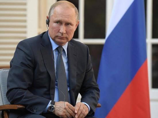Путин рассказал о взрыве на полигоне в Архангельской области