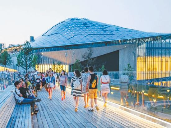 Концертный зал «Зарядье» назвали лучшим проектом Москвы