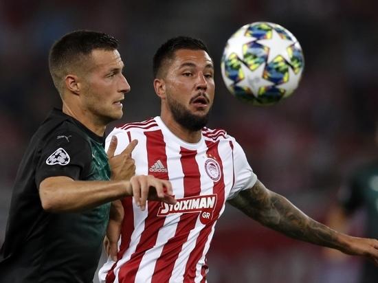 Катастрофа в Пирее: «Краснодар» пропустил четыре гола от «Олимпиакоса»