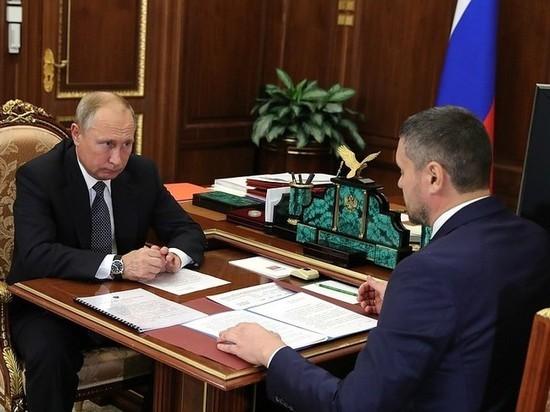 Путин ко Дню шахтёра встретится с Осиповым и другими главами регионов