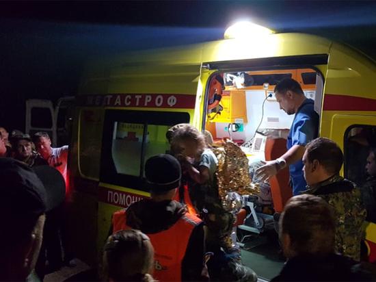 Вертолет доставил найденную в лесу пятилетнюю девочку в Нижний Новгород