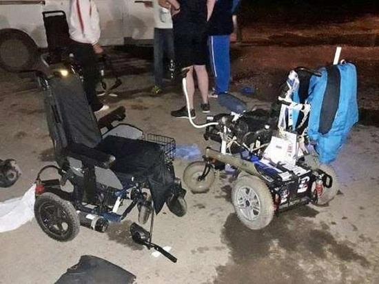 В Туле водитель сбил трёх паралимпийцев на колясках: среди них краснодарская спортсменка