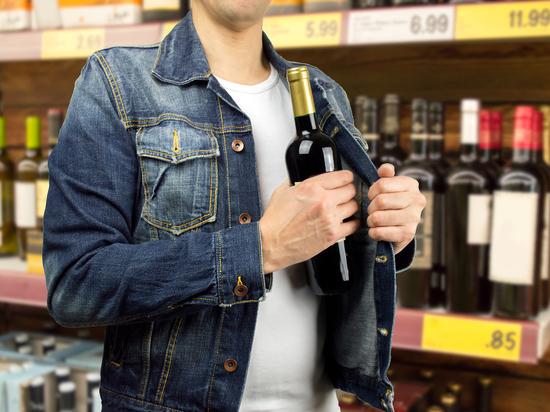 Брянец три десятка раз выносил из магазинов дорогие продукты