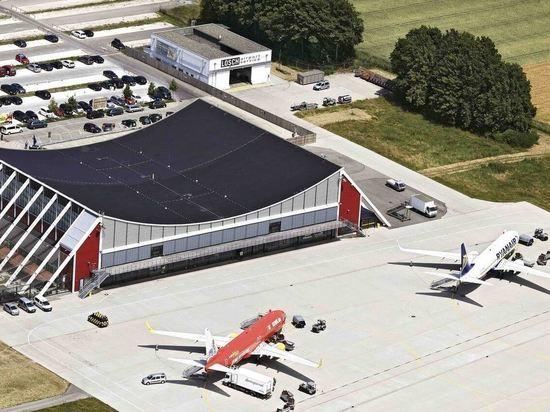 Аэропорт в Меммингене временно прекращает полеты