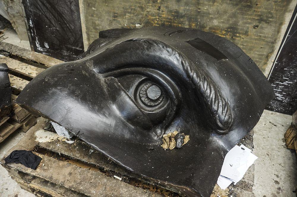 25-метровую скульптуру солдата для Ржевского мемориала начали отливать в бронзе