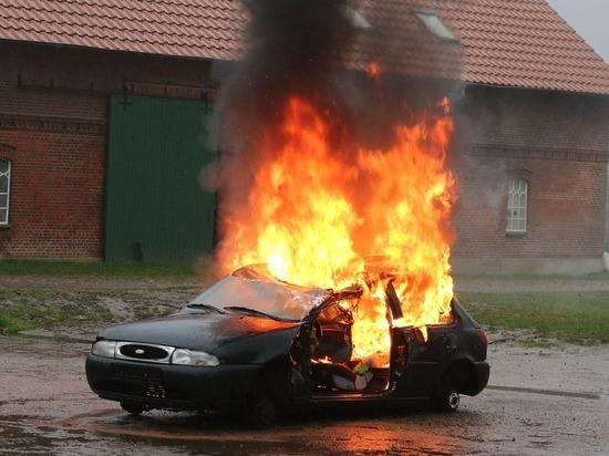 За вечер в Смоленской области сгорела два автомомбиля