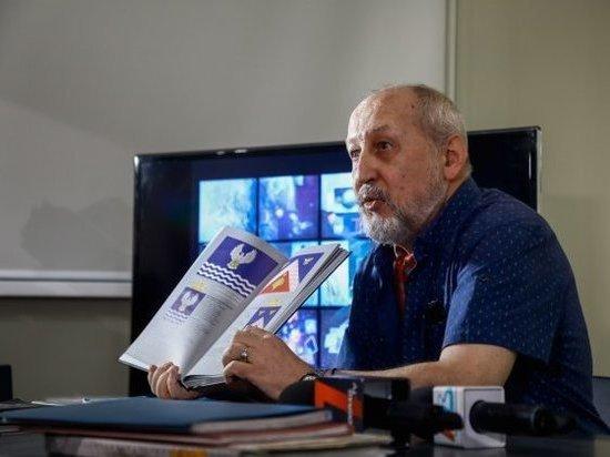 Волгоградский художник дал мастер-класс по геральдике