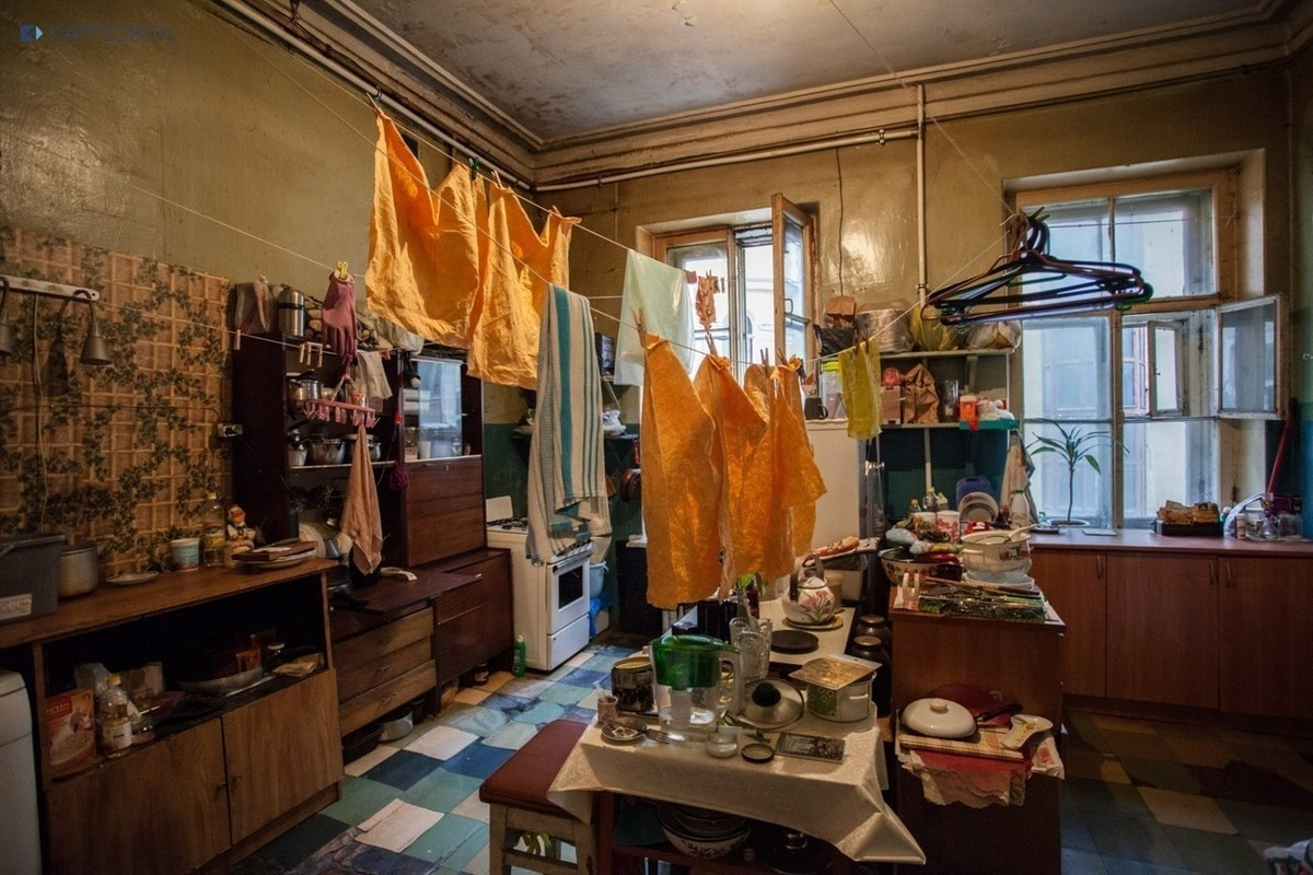 коммуналки в москве фото одно старейших