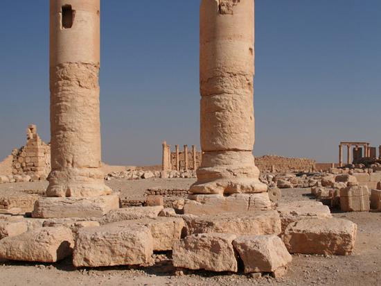 Артефакты разграбленной Пальмиры отлавливают на «черном рынке»