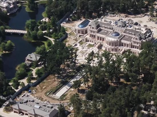 Новая резиденция украинского олигарха Ахметова: в два раза больше Белого дома