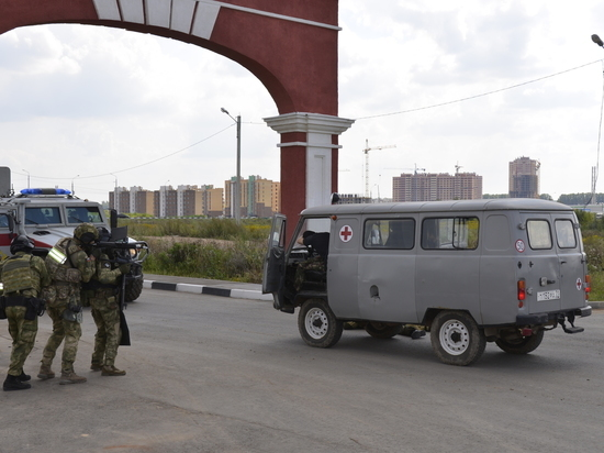 Силовики в Туле отработали ситуацию контртеррора