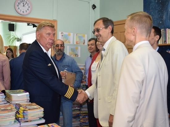 Участники федерального проекта посетили оленинскую школу