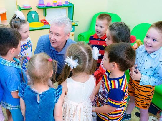 За семь лет в Москве были открыты более 200 школьных и дошкольных зданий