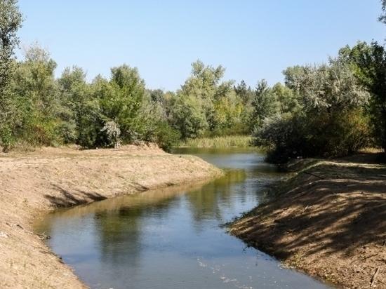 Реабилитация ериков и озер Среднеахтубинского района продолжается