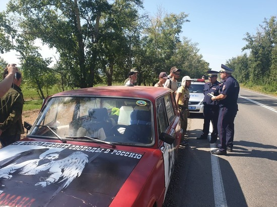 В Бурятии сотрудники ГИБДД забрали у Саши шамана «Жигули»