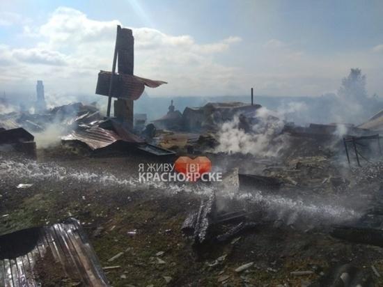 Ачинцев предупредили о новых взрывах снарядов