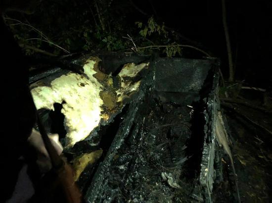 СК начал проверку по факту гибели мужчины на пожаре