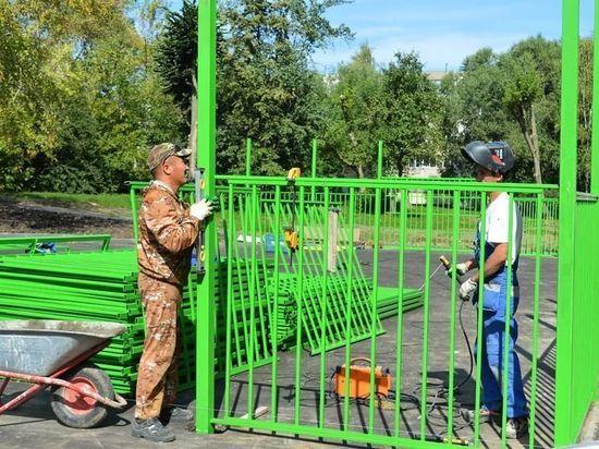 В Серпухове установят новые спортивные площадки во дворах