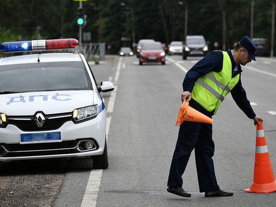 Череда автомобильных аварий в Липецкой области