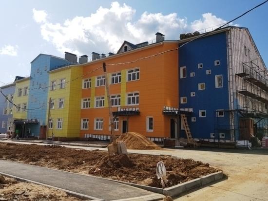 В Иванове благоустраивают двор детского сада в Рождественском