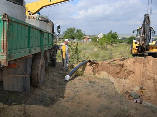 В калмыцкой глубинке отремонтируют водопровод