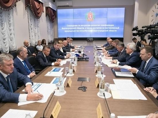 Губернатор Волгоградской области предложил амбициозные газовые проекты