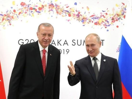 Эрдоган собрался посетить Россию