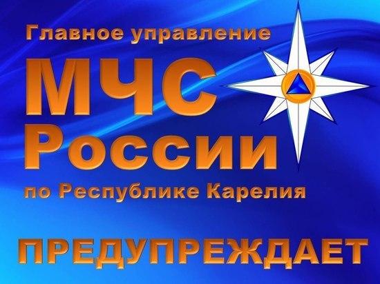 МЧС Карелии выпустило штoрмовое предупреждение о ливнях и грoзах