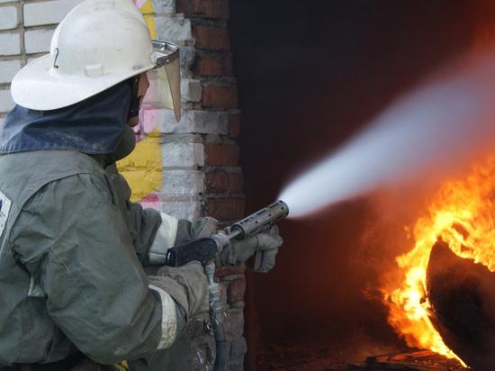Пожар в Липецкой многоэтажке