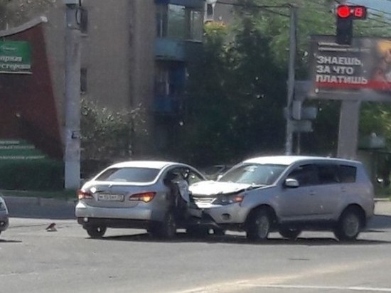 Женщина пострадала в ДТП в центре Читы