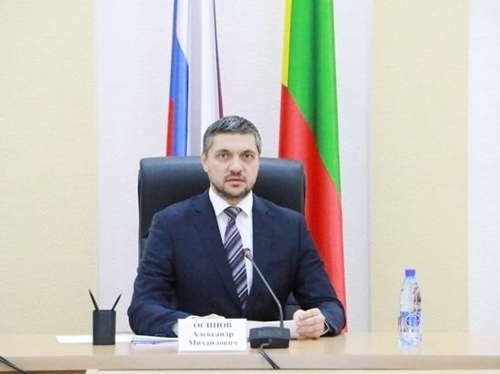 Осипов выступил за возможность снятия муниципальных глав