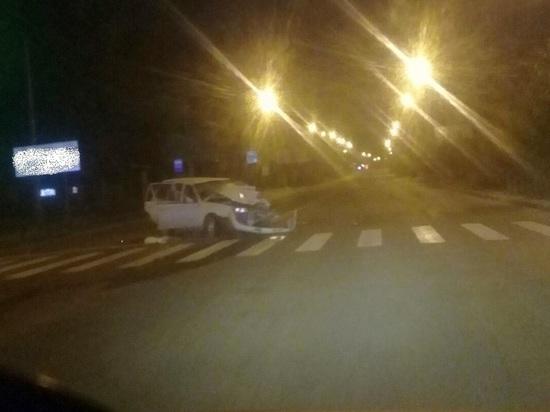 Водитель Nissan в Чите въехал в Suzuki, пострадали трое человек