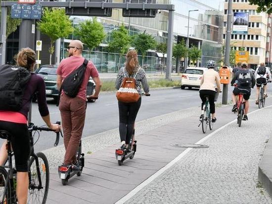 Новые правила для электрических скутеров в Германии