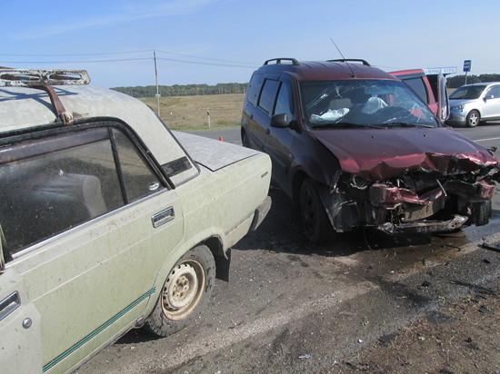 В Саракташском районе произошла авария: шестеро пострадавших