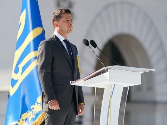 Зеленский в День независимости Украины обвинил Москву с помощью аллегории