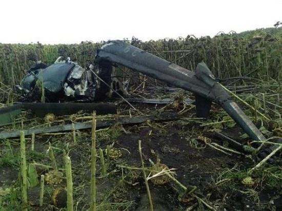 На Кубани разбился вертолёт Ми-2: пилот погиб