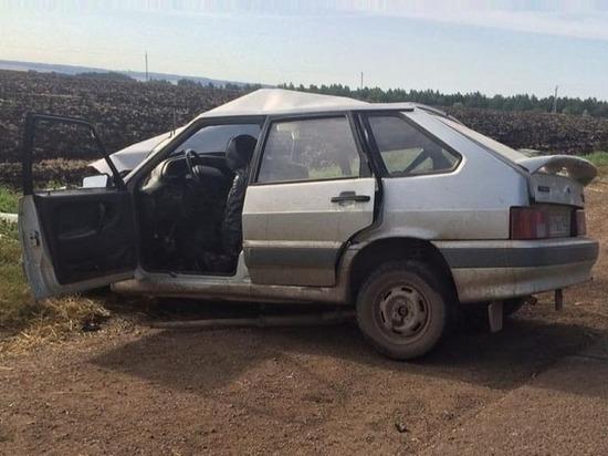 25-летняя девушка стала жертвой серьезной аварии в Башкирии