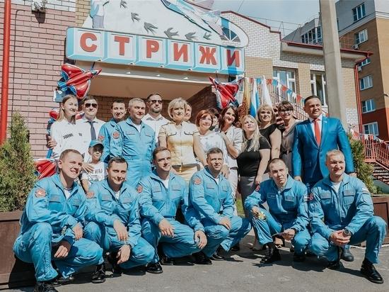 Пилотажная группа «Стрижи» блеснула на юбилее Чебоксар